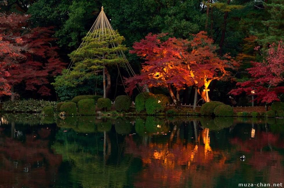kenrokuen autumn illumination kanazawa big